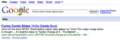 Your #1 resource for funny jesus, and not the parable one