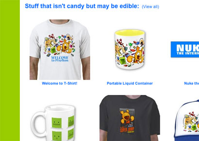Funny Comic Cartoon Art T-shirts hats mugs and assorted crap