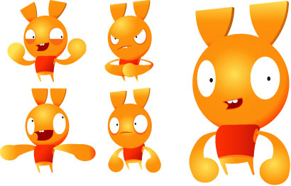 Animation character model sheet