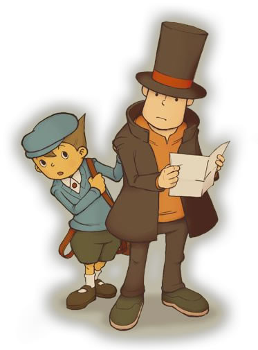 Luke and Professor Layton